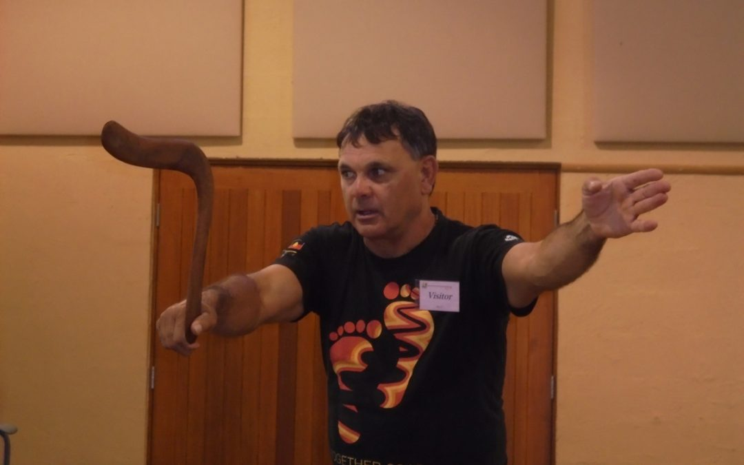 INDIGENOUS PERFORMER RON MURRAY IS COMING THIS THURSDAY