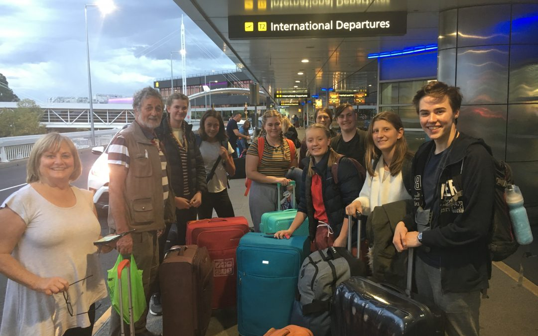 Bon Voyage to our first Year 10 Cultural Exchange students.